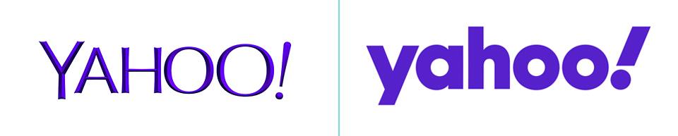 Yahoo 2018 logo V yahoo logo 2019